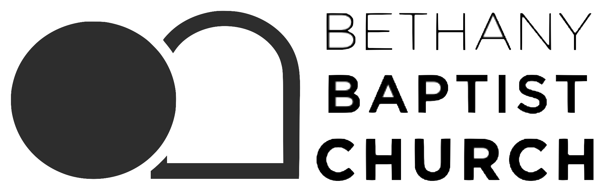 BBC Logo icon with name stacked higher quality – Bethany Baptist Church